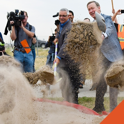 Central 70 Groundbreaking